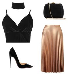 Designer Clothes, Shoes & Bags for Women Miss Selfridge, Boohoo, Christian Louboutin, Shoe Bag, Polyvore, Stuff To Buy, Shopping, Collection, Shoes