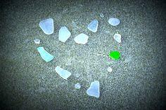 outer banks seaglass <3