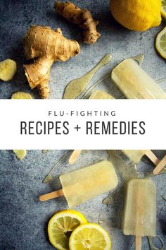 Here are a few of our favorite feel-good recipes and remedies to help you tackle the flu season.