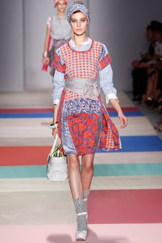 spring colorways  Marc by MJ Spring 2013 RTW  loving mixed print mash-up & fresh color combos