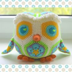 African flower owl