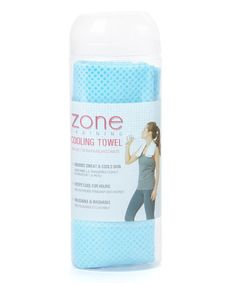 Another great find on #zulily! Turquoise Cooling Towel by Lifestyle Products LLC #zulilyfinds