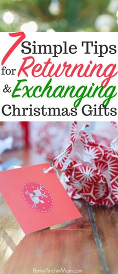 How to make returning or exchanging gifts easy this year Christmas gifts Christmas On A Budget, All Things Christmas, Christmas Crafts, Christmas Decorations, Christmas Ideas, Merry Christmas, Easy Gifts, Free Gifts, Cheap Candles