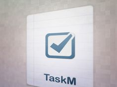 Smart Task Manager App Icon 2 by TinSoldier, via Behance