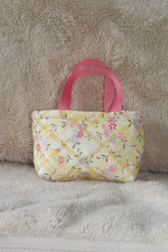 American Girl Doll Party Favor Quilted Tote Bag or Purse. $3.95, via Etsy.