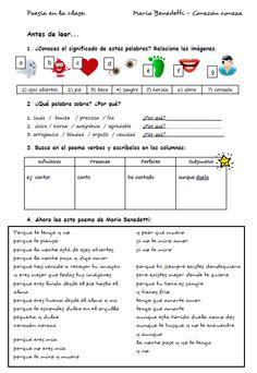 Recursos para profesores de español: Poesía en la clase