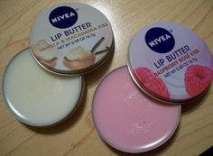 New Nivea Lip Butters