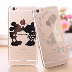 Transparent TPU Disney Character Clear Case Siries for iPhone 6/6s 4.7 /5.5