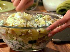 Poblano Potato Salad Recipe   Marcela Valladolid   Food Network