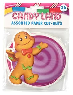 Kids' Paper Craft Kits - Eureka Candy Land Assorted Paper CutOuts 12 Each of 3 Different Designs 36Piece *** Be sure to check out this awesome product.