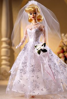 1960 Wedding Day Barbie doll