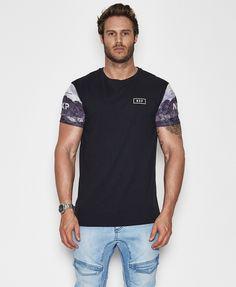 Scorpion Scoop Back T-Shirt Jet Black - T-Shirts - Tops - Mens / NENA AND PASADENA