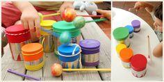 Recycled musical instruments #musiced // Instrumentos musicales reciclados de @inescb