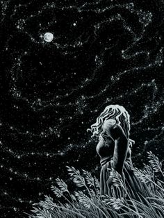 ♥ the feeling of this. Stargazing at things that are too far away to imagine. Realizing you're such a small part of the universe is sometimes a staggering feeling. -Amy