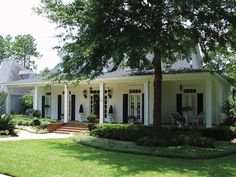 Port Gibson Acadian Home from houseplansandmore.com