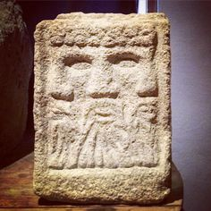 Spotted this on my travels. A Triple faced 'Celtic' deity, possibly representing Lugh/Lugus. From the Reims region in France. Lugh also appears to have been an important god in pre-Christian Ireland. Celtic Paganism, Celtic Christianity, Celtic Mythology, Old Irish Names, Art Romain, Alexandre Le Grand, Pagan Gods, Book Of Kells, Celtic Art