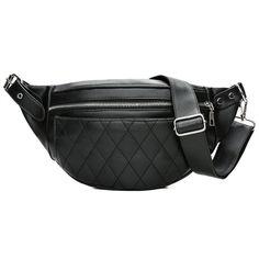 c8667c215d3 Fashion Ling Grid PU Leather Fanny Pack Waist Bag Bananka Waterproof  Antitheft Women Walking Shopping Belly Band Belt Bag Review
