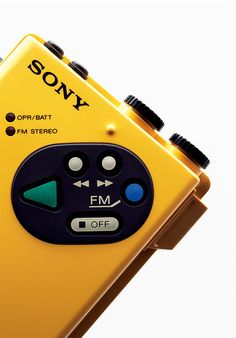 Celebrating six decades of innovation with a retrospective tome of Sony's greatest hits. - Diana Budds's Remember the Walkman? These Photos of Retro Sony Electronics Are a Blast from the Past design collection on Dwell. Vintage Design, Retro Design, Radios, Sony Design, Ui Design, Sony Electronics, Electronic Devices, Retro Futurism, Audio Equipment