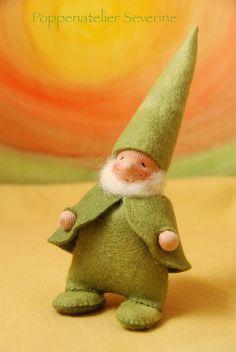 Little green gnome
