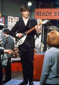 """John, on """"Ready, Steady, Go!"""""""