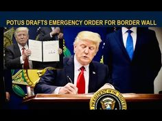 Trump to declare a National Emergency along the southern border and will utilize mo. Alternative News, God Bless America, Constitution, Current Events, Citizen, Presidents, Freedom, January, Fox