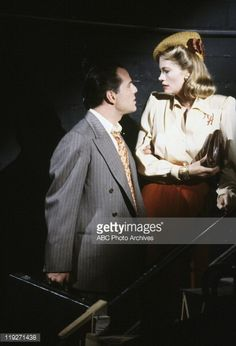 """""""The dream sequence always rings twice"""" episode Moonlighting Tv Show, Best Tv Series Ever, Bruce Willis, Series Movies, Blue Moon, Best Games, Nostalgia, Tv Shows, Movie Posters"""