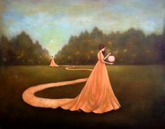 Duy Huynh -- Paintings- unwinding the path to self discovery