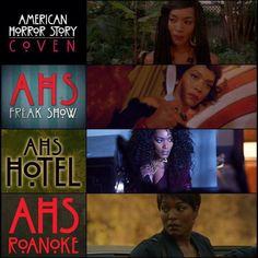 Angela Bassett in American Horror Story