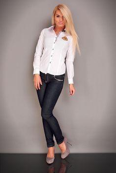Camasa alba Erry Carisma White 220112185Balb 185,00 RON  - http://www.erry.ro/camasa-erry-carisma-white.html modele camasi de dama, camasi dama, camasa barbateasca, camasa femeie, camasa alba dama, camasi albe, camasa alba cu maneci lungi, camasa office dama, camasa eleganta, camasi dama online din www.erry.ro cu livrare prin curier rapid. http://www.erry.ro/catalogsearch/result/?q=carisma