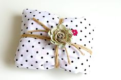 pretty packages on the blog today.