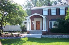 Indianapolis Remodeling Contractor | Thomas J Pearson, Inc. :: Meridian Kessler Portico See Before Photos at our website, ThomasJPearson.com   #indiana #indianapolis #remodel #remodeling #construction #home #house #contractor #family #addition