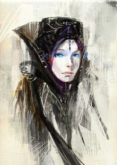 Dune Bene Gesserit Witch drawing, and Freman blue within blue eyes. Character Concept, Character Art, Concept Art, Character Design, Fantasy Characters, Female Characters, Jaguar, Dune Frank Herbert, Dune Art