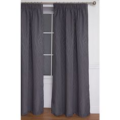 Living & Co Curtains Piha Slate Medium Plus 205cm Drop - Living & Co - Curtains - Curtains & Blinds - The Warehouse