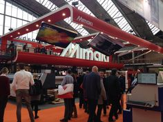 The hugely impressive Mimaki stand at FESPA Digital 2016. #fespadigital #fespa2016