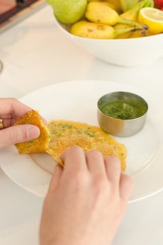 Recipe: Pudla (Indian Chickpea Crepes) Recipes from The Kitchn | The Kitchn