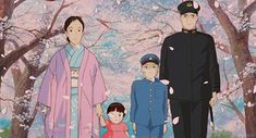 Family photo - Grave of the Fireflies (1988)