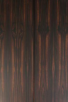 Luxurious Macassar wood.