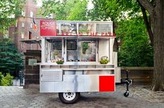 You can eat organic in the park. . . . - What: Located just outside the entrance to the Central Park Zoo, Rouge Tomate's new food cart will offer a nutritious selection of sandwiches, soups, juices, sorbets, and gelato made from seasonal and local ingredients (think a BLT with heirloom tomatoes). Powered by a solar panel on its roof, and using only recyclable or biodegradable paper products and serving utensils, the cart will be open six days a week (not including Sundays) from 10:00 a.m…