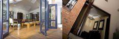Wood and aluminium doors and windows Aluminium Windows And Doors, Wood, Furniture, Home Decor, Decoration Home, Woodwind Instrument, Room Decor, Timber Wood, Home Furnishings