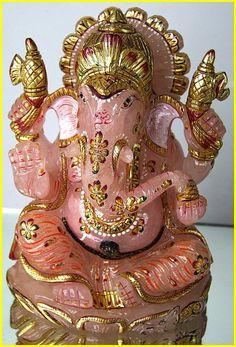 """EXTRA Large Ganesh Ganesha Hindu Elephant God of Success Statue Sculpture 6.8"""""""