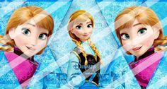 Disney Frozen Edible Cake Topper Frosting 1/4 Sheet Image #5