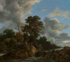 Ruisdael, Jacob van Dutch, c. 1628/1629 - 1682 Landscape c. 1670