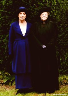 Downton Abbey in mourning....