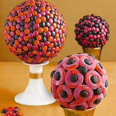 Candy topiary...can't get over how beautiful these are!