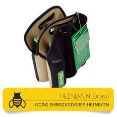 Projeto Heineken Embaixadores • Ação Promocional • Criação das Peças Gráficas e Embalagens