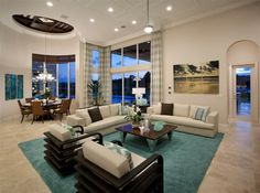 Living room, Boca Raton