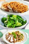 Here is a healthy meal plan outline for diabetics that tastes great If you're trying out the diet, our under 500 calorie meal plans will get you though those fasting days. 800 Calorie Meal Plan, 600 Calorie Meals, Low Calorie Recipes, 5 2 Diet Recipes 500 Calories, Clean Eating, Menu Dieta, Healthy Snacks, Healthy Recipes, 5 2 Recipes
