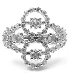 Now available at Fortrove.com: New! Authentic Da... Freshly added just for you! http://fortrove.com/products/new-authentic-damiani-18k-white-gold-diamond-cluster-clover-ring?utm_campaign=social_autopilot&utm_source=pin&utm_medium=pin #MakeAnOffer