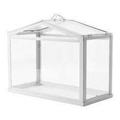 SOCKER Kasvihuone, valkoinen sisä-/ulkokäyttöön - IKEA