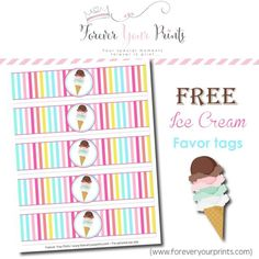 Free Ice Cream Party